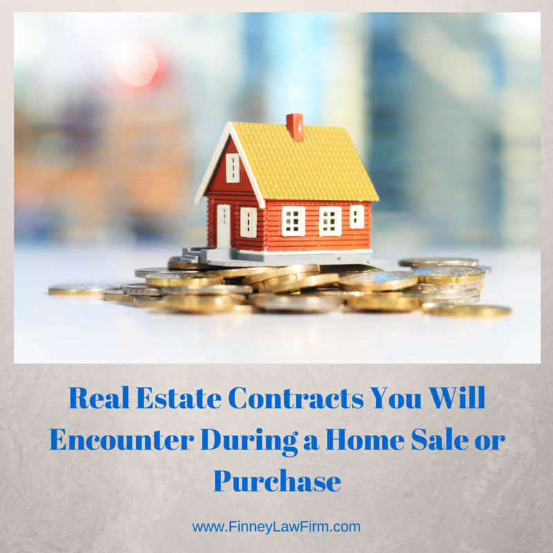Real Estate Contracts You Will Encounter During a Home Sale or Purchase
