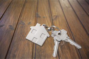 house key chain with keys